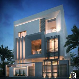 Modern interior design villas