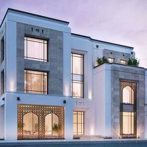 Designing the facades of villas and small houses