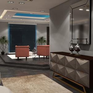 Family lounge decor design