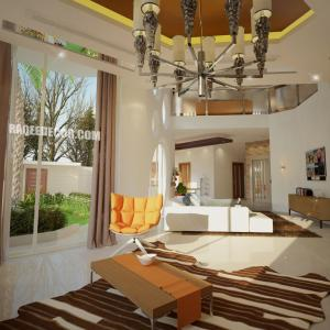 Interior and exterior villas design